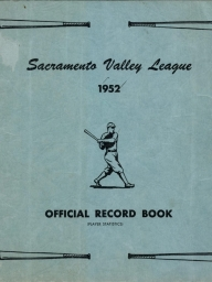 1952 Sacramento Valley League