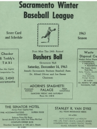 1963 Sacramento Winter League