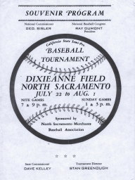 1946: NBC Regional Tournament in North Sacramento