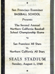 1948: 2nd Annual SF Examiner All-Star Championship Game