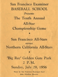 1956: 10th Annual SF Examiner All-Star Championship Game