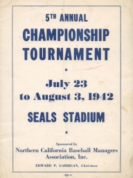 1942 Fifth Annual Championship Tournament