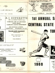 1968: 1st Annual (NBC) Central State Tournament