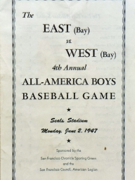 1947: Fourth Annual East vs. West High School All-Stars