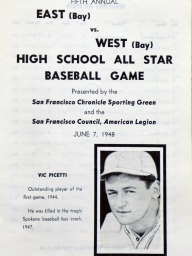1948: Fifth Annual East vs. West High School All-Stars