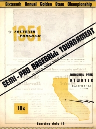 1951: 16th Annual (NBC) State Tournament